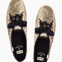 keds for kate spade new york glitter kick - kate spade new york