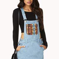 Out West Overall Dress