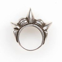 TRIBAL SPIKE BAND RING / PAMELA LOVE