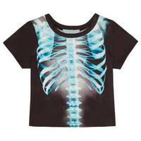 Mini Skeleton Print Tee - New In This Week  - New In