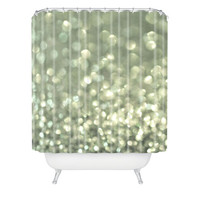 DENY Designs Home Accessories | Lisa Argyropoulos Mingle 2 Silver Screen Shower Curtain