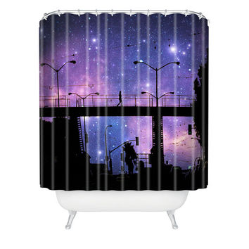 DENY Designs Home Accessories | Shannon Clark Night Walk Shower Curtain