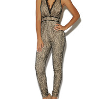 Scallop Lace Jumpsuit