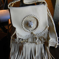 Dream Catcher Leather Boho Hippie Hipster Style Purse