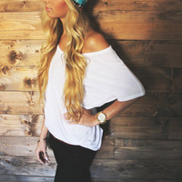 Turban Headband -- Cream Tribal Print