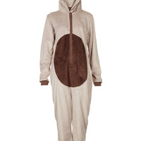 Reindeer Novelty Fluffy Onesuit - Sleepwear - Clothing - Topshop USA