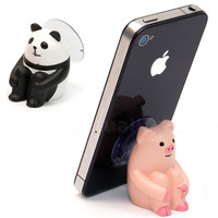 SITTING ANIMAL PHONE STAND