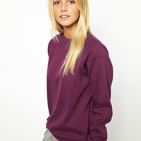 ASOS Sweatshirt Padded Sleeve