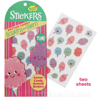 COTTON CANDY SCRATCH & SNIFF STICKERS