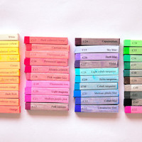 SALE Premium Hair Chalk - - Your Choice - Pick 3 Large Sticks