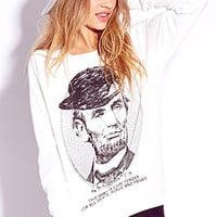 Statement Making Lincoln Sweatshirt