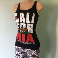 California Republic Tank Tops