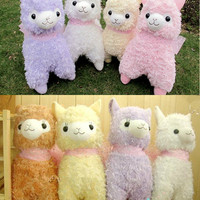 Ribbon Arpakasso Alpacasso Alpacos Plush Stuffed Animal toy Doll Gift 50cm/40cm
