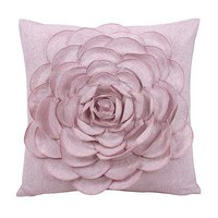 Blissliving Home Jenna Pink Pillow - Bedding