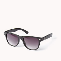 F4572 Studded Cross Wayfarer Sunglasses