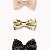 Luxe Hair Bow Set