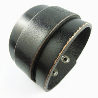 Punk Rock Leather Bracelet Couple Bracelet Women Bracelet Men Leather Bracelet Bracelet Cool Bracelet Mens Bracelet 2575S