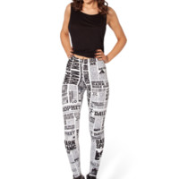 Daily Prophet HWMF Leggings | Black Milk Clothing