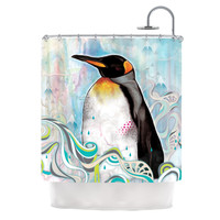 "Mat Miller ""King"" Shower Curtain 
