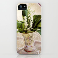 Lily of the Valley iPhone & iPod Case by Vargamari