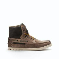 URBAN ANKLE BOOT - Shoes - Man - New collection - ZARA United States
