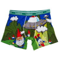 Gnome Away From Home Men's Boxer Briefs | Mod Retro Vintage Mens SS Shirts | ModCloth.com