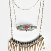 Too Rare to Die Layered Necklace by St. Eve - New Arrivals - Clothing