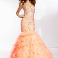 Mori Lee Dress 95076 at Peaches Boutique