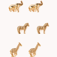 Safari Stampede Stud Set