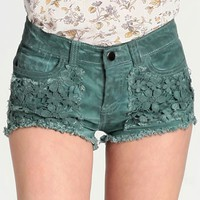 Grace Land Cutoff Shorts By Black Sheep