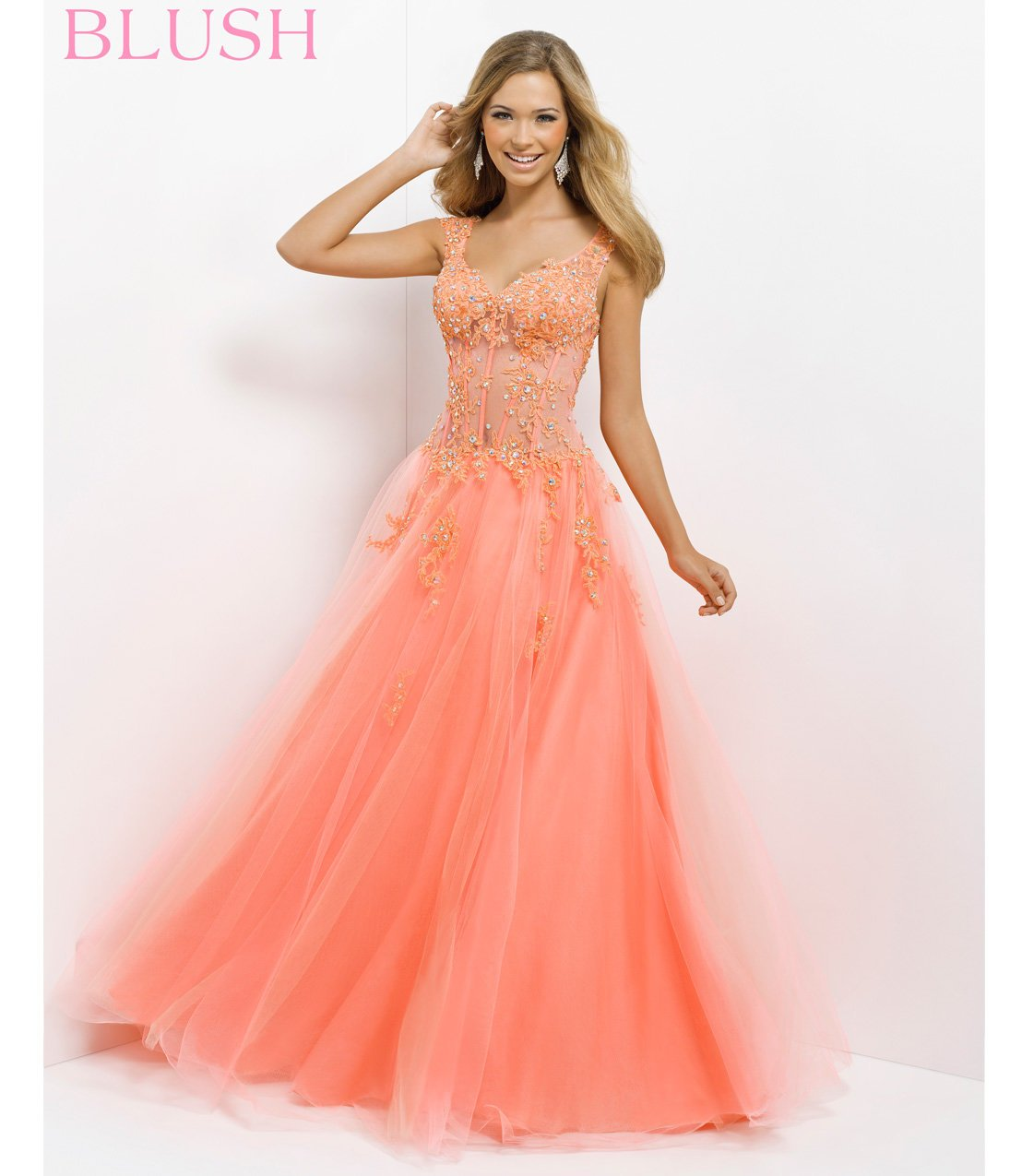 (PRE-ORDER) Pink By Blush 2014 Prom From Unique Vintage