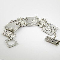 Pure Silver Bubble Bracelet