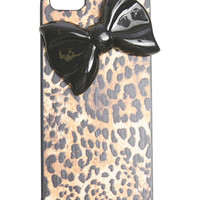 Leopard Bow Phone Case