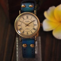 Vintage Leather Watch Wrist Watch--four colors for choice