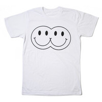 Twins T-Shirt (White) | Burger And Friends