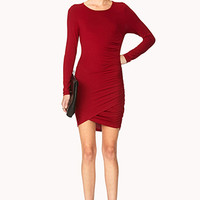 Sleek Ruched Dress