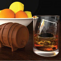 WHISKEY BARREL ICE - ICE CUBE MOLD