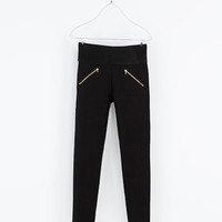 LEGGINGS - Trousers - WOMAN | ZARA United States