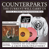 Counterparts: Vinyl and Crew Neck Package