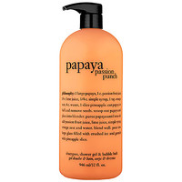 Sephora: Philosophy : Papaya Passion Punch Shampoo, Shower Gel & Bubble Bath  : body-wash-shower-gel