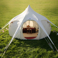 Lotus Belle 5 Metre, beautiful handmade glamping tents, yurt, tipi, teepee, burning man