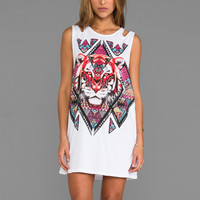 MINKPINK Tiger Tribe Tunic Tank in Multi