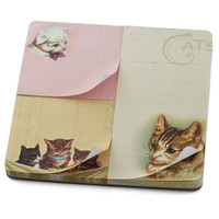 Cat-ch Your Thoughts Notepad Set | Mod Retro Vintage Desk Accessories | ModCloth.com