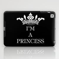 I'm a princess III iPad Case by Louise Machado