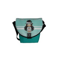 Kawaii Chibi Inidan Courier Bag from Zazzle.com