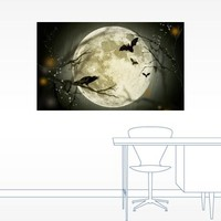 Halloween Mystery Wall Decal