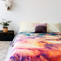 Shannon Clark For DENY Cosmic Duvet Cover- Multi