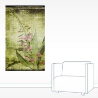 Flower Painting Wall Decal