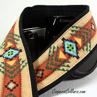 Tribal Camera Strap dSLR or SLR, Southwestern, Pendleton, 2 c