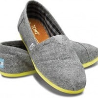 Yellow Pop Herringbone Women's Classics